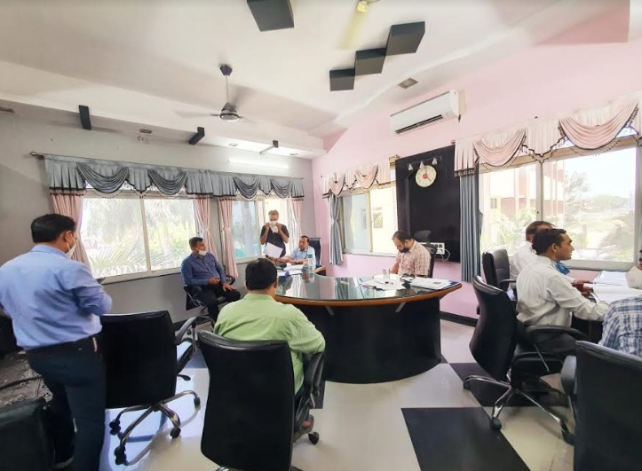 OSD Dr. Vinod Rao visited Pioneer, Dhiraj and Parul hospitals