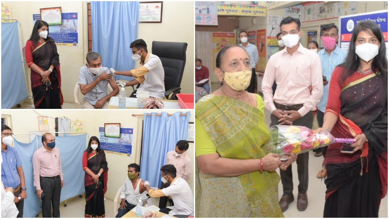 Start of vaccination for citizens above 45 years of age in Vadodara