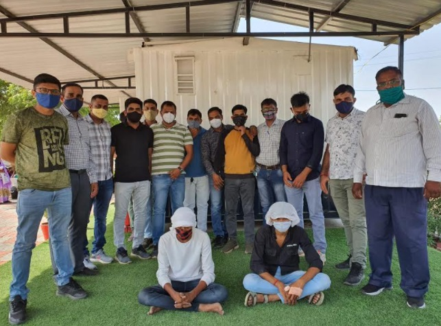 Vadodara taluka LCB arrest two in the murder of youth whose body found in Sevasi area