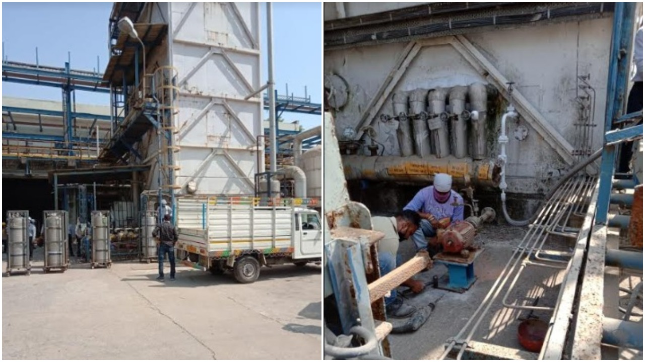 GSFC Vadodara started diverting oxygen supply for medical purpose to city