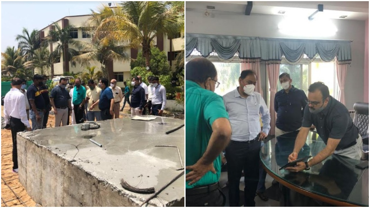 Team from central goverment visited Vadodara in view of rising covid cases