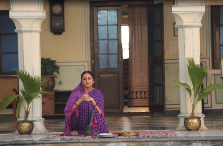 First look of Huma Qureshi stars as Rani Bharti in Political drama 'Maharani'