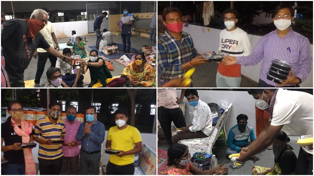 Chartered Accountants Group of Vadodara provide meals to relatives of patients undergoing treatment in government hospitals