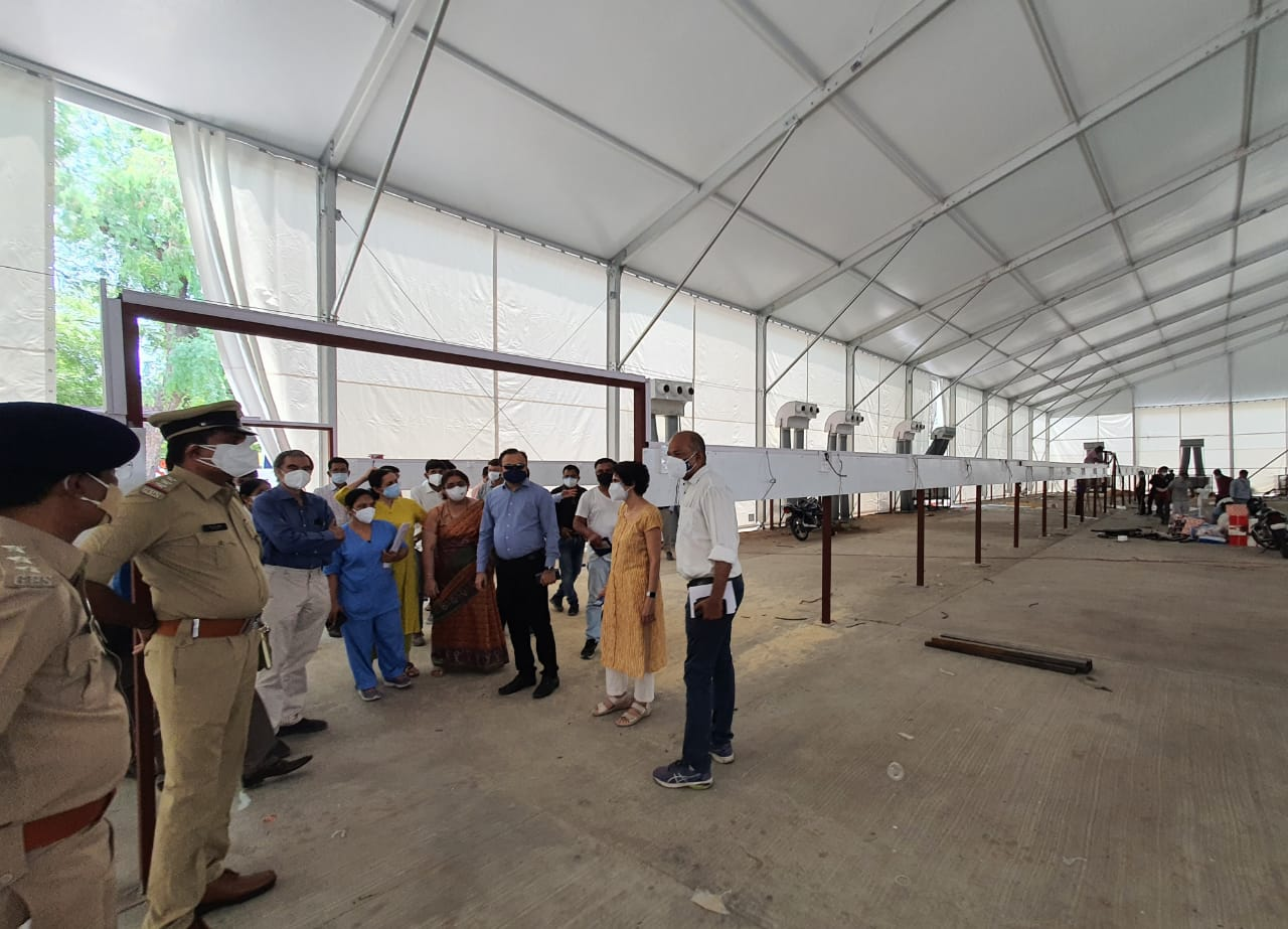 250 bed Quick Response Treatment centre to start at Gotri