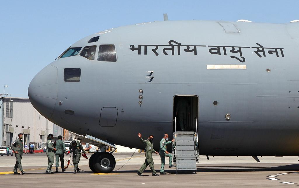 Relief efforts by IAF in COVID 19