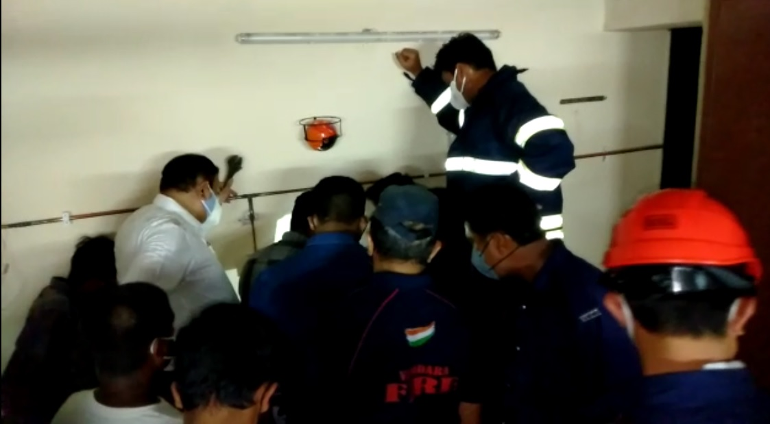 Oxygen port leakage reported in Samras hospital Vadodara
