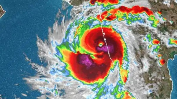 Extremely severe cyclonic storm Tauktae weakens after crossing Gujarat coast