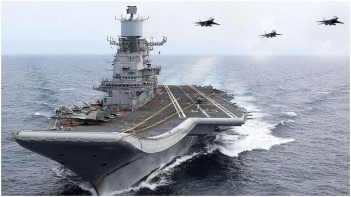 Indian Navy engaged in rescue operations in view of Cyclone Tauktae