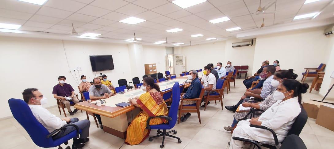Patients reducing at SSG and Gotri hospitals in Vadodara