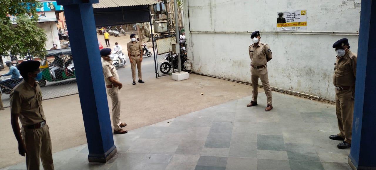 Vadodara police jawan recovered from corona resumed duty