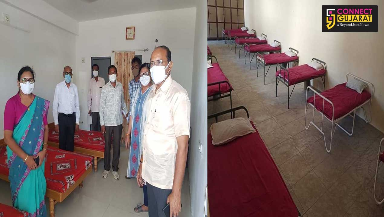 Facility of 5749 beds in 546 villages of the district under collective covid care center
