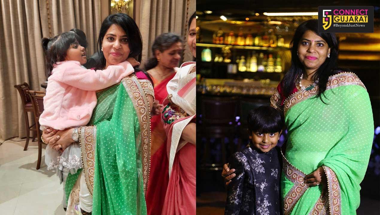 Vadodara collector a shining example of motherhood