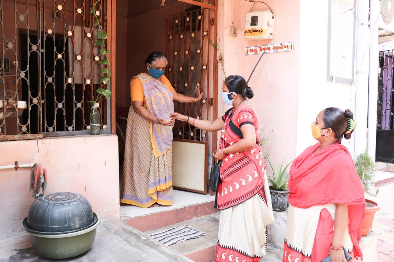 Dudhwada village in Padra taluka strictly follows the precautionary measures to fight corona