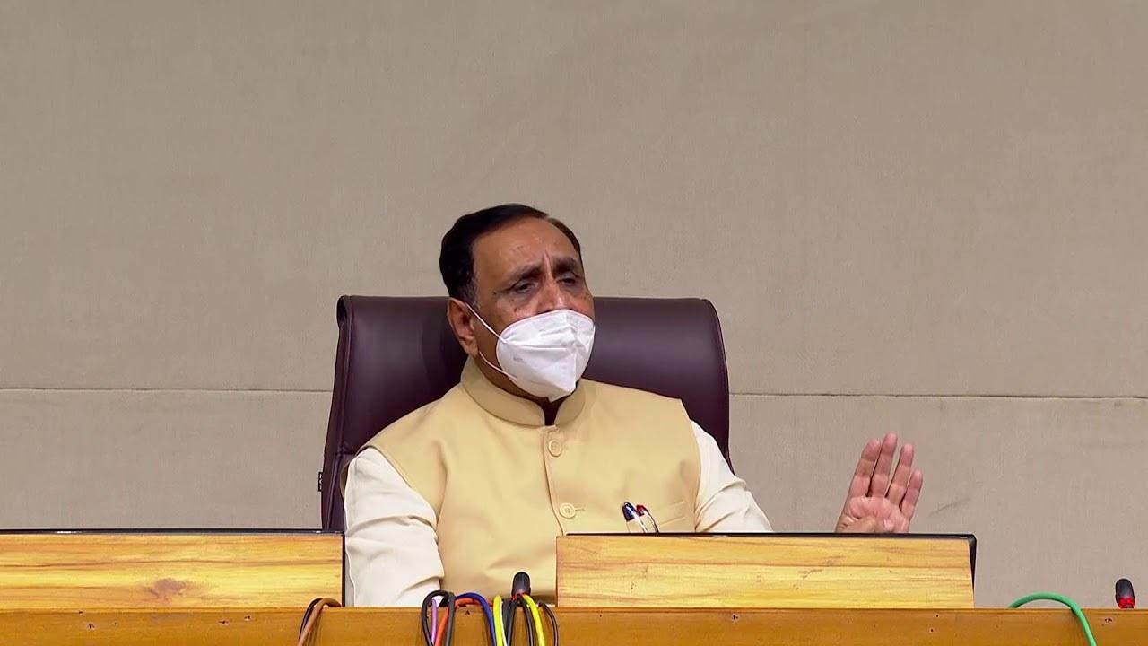 CM Vijay Rupani announces ₹4 lakh assistance for 18 dead in hospital fire