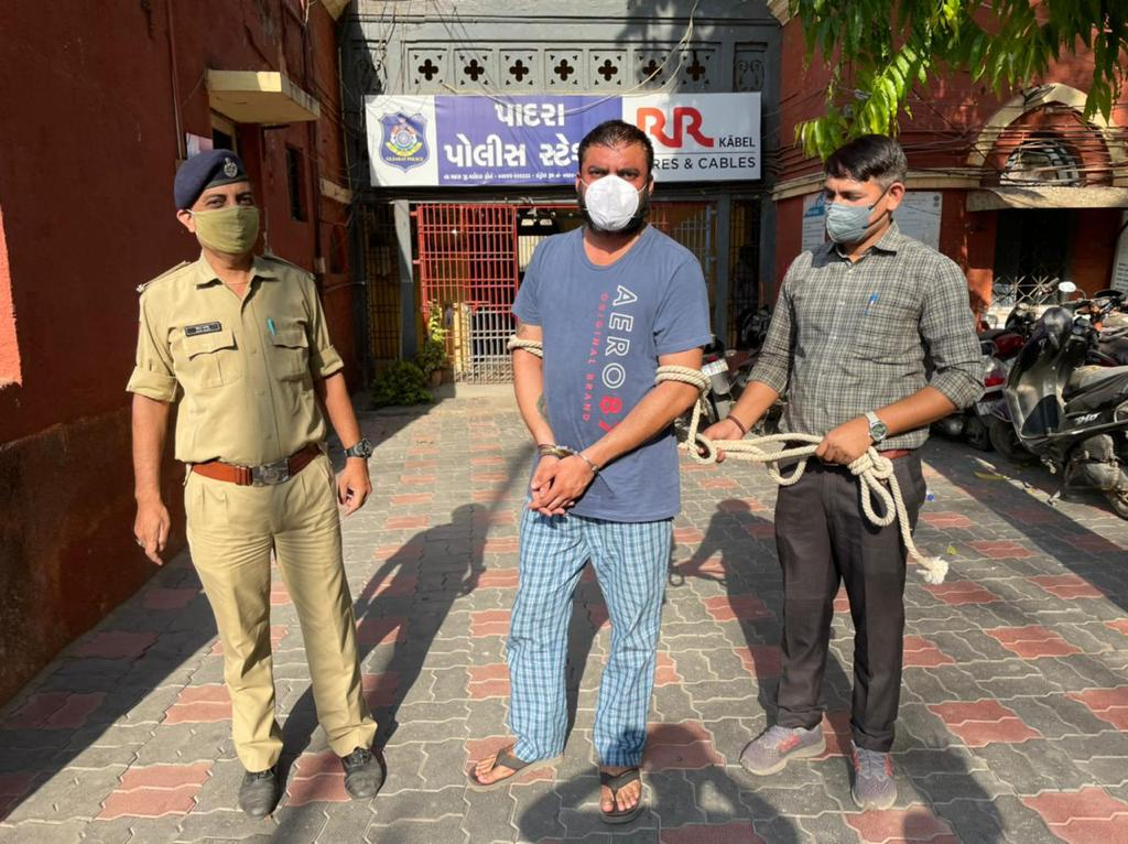 LCB arrest the rape accused involved in crime at Sokhadakhurd village in Padra