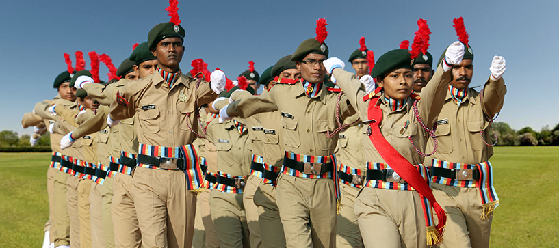 UGC allows students to take NCC as an elective subject in college