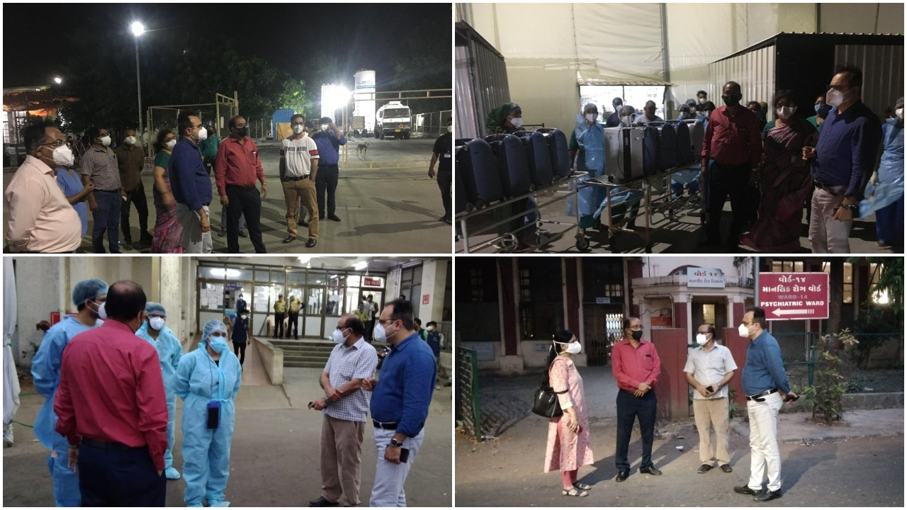 Preparations at dedicated covid hospitals in Vadodara for cyclonic situation